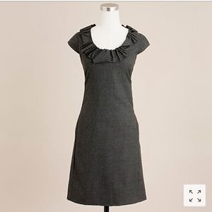 🍁 J. Crew Wool Ribbon Ravine Shift Dress!